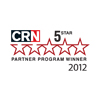 2012 CRN 5-Star Partner Program Guide Winner
