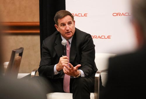 Mark Hurd at SuiteWorld 2017.