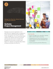 Data sheet Project Management