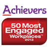 Achievers 50 Most Engaged Workplaces Award 2013