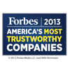 Forbes America's 100 Most Trustworthy Companies