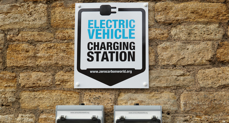 Eletric charging station